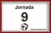 Partidos Jornada 9 Liga Española 2013