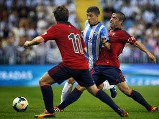 Málaga vs. Osasuna 2013