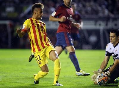 Osasuna vs. Barcelona 2013