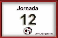 Partidos Jornada 12 Liga Española 2013 próxima jornada