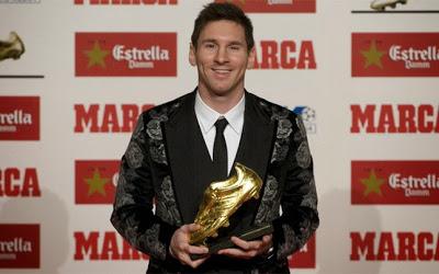 Leo Messi Bota de Oro 2013
