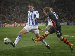 Shakhtar vs. Real Sociedad