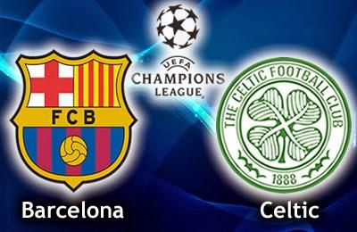 Barcelona vs. Celtic de Glasgow champions league 2013
