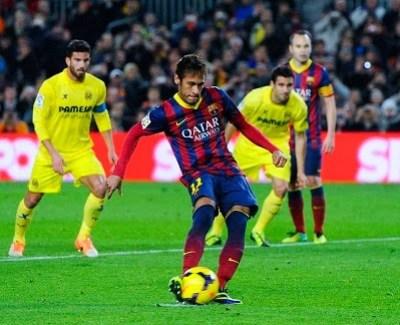 Barcelona vs. Villarreal 2013