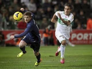 Elche vs. Málaga 2013