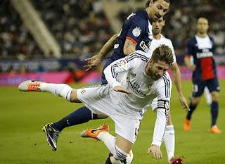 PSG vs. Real Madrid 2014