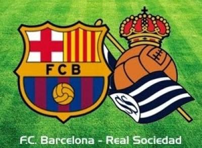 Barcelona vs. Real Sociedad 2014