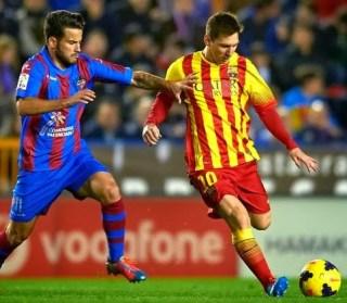 Levante vs. Barcelona 2014