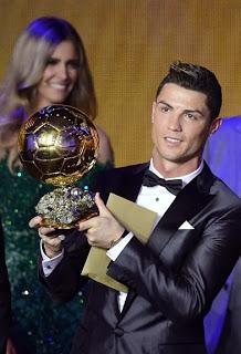 Cristiano Ronaldo Balón Oro 2013