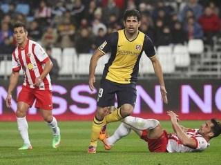 Almería vs. Atlético Madrid 2014
