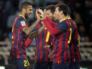 Real Sociedad vs. Barcelona copa rey 2014