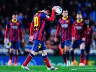 Real Sociedad vs. Barcelona 2014 jornada 25