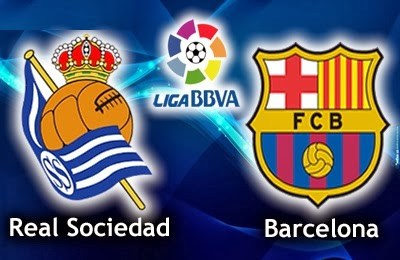 Real Sociedad vs. Barcelona 2014