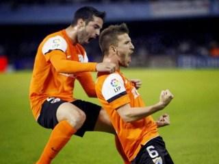 Celta Vigo 0-Málaga 2. Jornada 29 Liga Española
