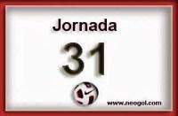 Partidos Jornada 31. Liga Española 2014