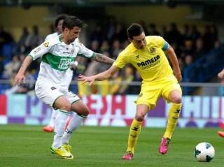 Villarreal 1-Elche 1. Jornada 31 Liga Española