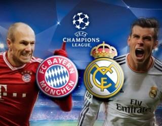 Alineación y la previa Bayern Munich-Real Madrid. Semifinales Champions