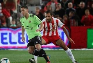 Almería 1-Osasuna 2. Jornada 32 Liga Española