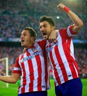 Atlético Madrid 1-Barcelona 0. Champions League