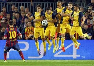 Barcelona 1-Atlético Madrid 1-Champions League cuartos de final