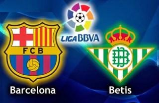 Alineación y la previa Barcelona-Betis. Jornada 32