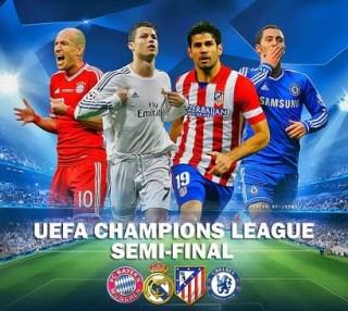 Semifinales Champions League 2013-2014