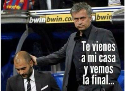 Los mejores chistes y memes del Chelsea-Atlético Madrid. Champions League memes mourinho pep guardiola
