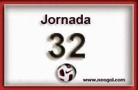Partidos Jornada 32. Liga Española 2014