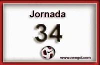 Partidos Jornada 34. Liga Española 2014