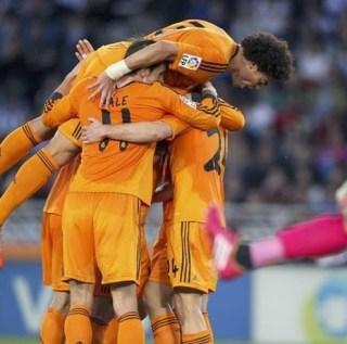 Real Sociedad 0-Real Madrid 4. Jornada 32 Liga Española