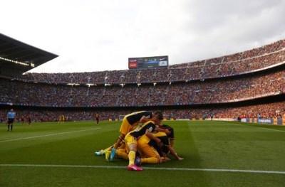 imágenes del Atlético Madrid Campeón Liga Española 2014