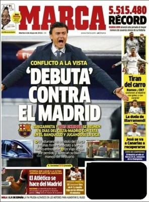 Luis Enrique Ficha para el Barça