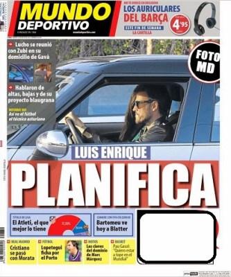 Luis Enrique será el nuevo técnico del FC Barcelona