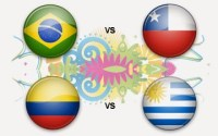 Horarios partidos sábado 28 de junio: Mundial Brasil