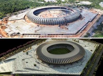 Estadio Mineirão, Belo Horizonte remodelacion reforma