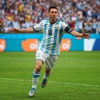Nigeria 2-Argentina 3. Mundial Brasil-Grupo F leo messi