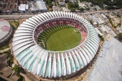 Estadio Beira-Rio, Porto Alegre Sede de Brasil 2014