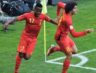 Bélgica 1-Rusia 0. Mundial Brasil-Grupo H