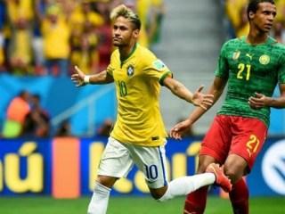 Camerún 1-Brasil 4. Mundial Brasil-Grupo A