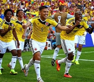 Colombia 3-Grecia 0. Mundial Brasil-Grupo C