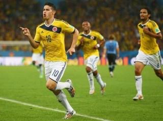 Colombia elimina a Uruguay y está en cuartos.