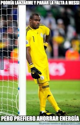 Los mejores chistes y memes de Argentina-Nigeria: Mundial Brasil portero nigeria