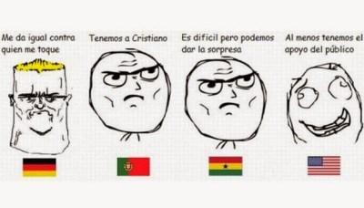 Los mejores chistes y memes Estados Unidos-Portugal: Mundial Brasil