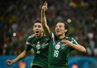 Croacia 1-México 3. Mundial Brasil-Grupo A