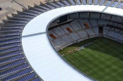 Estadio Mineirão, Belo Horizonte. Sedes del Mundial