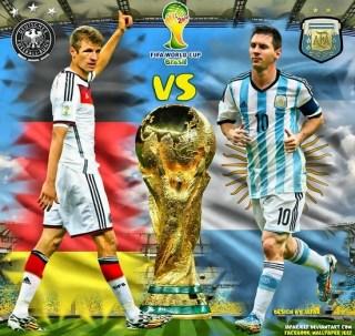 Alineación y la previa Alemania-Argentina. La Final