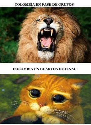 Los mejores memes de Brasil-Colombia: Cuartos de final