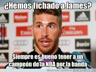 Los mejores memes y chistes del fichaje de James Rodríguez real madrid