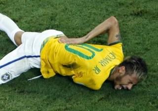 Neymar dice adiós al Mundial por una fractura de vértebra