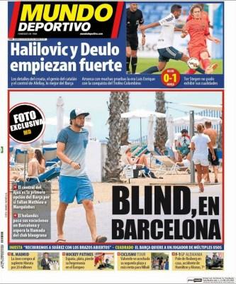 Portada Mundo Deportivo: El Barça de Luis Enrique debuta con un triunfo